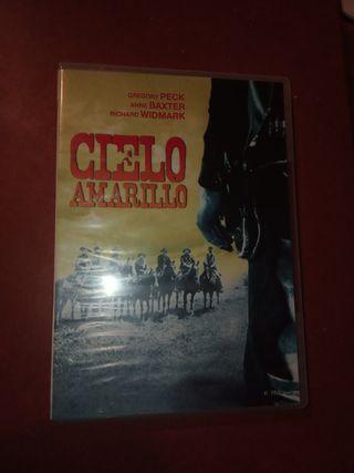 DVD pelicula Oeste. Cielo amarillo