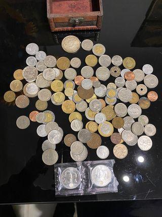Colección monedas antiguas. Escucho ofertas