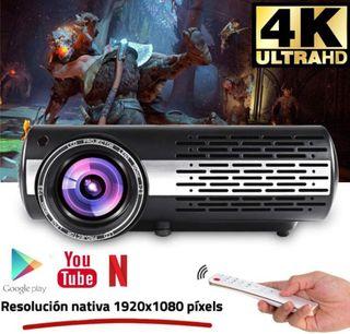 Seelumen 6500 Lúmenes Proyector Full HD 1080P