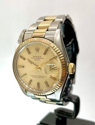 Reloj Rolex Oyster Perpetual Date. Acero/Oro.