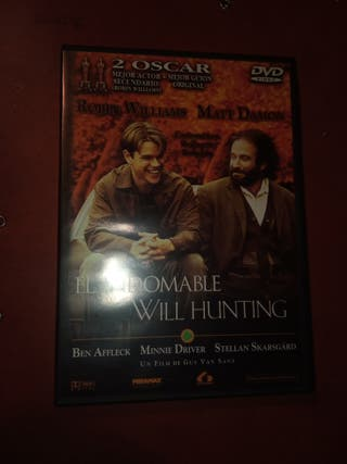 DVD pelicula El indomable Will Hunting
