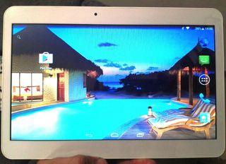 Pantalla LCD con carcasa para tablet