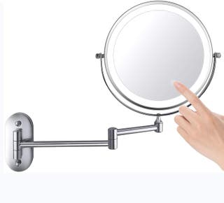 Espejo de Maquillaje con Luz LED 1X/5X