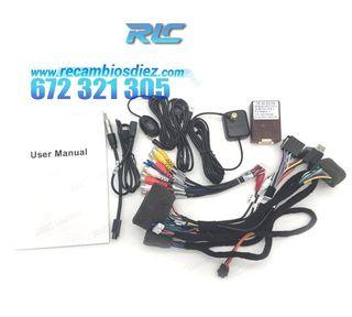 RADIO NAVEGADOR 7 ANDROID 8,0 DVD GPS RENAULT MEG