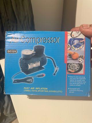 Compresor aire para coche 12v