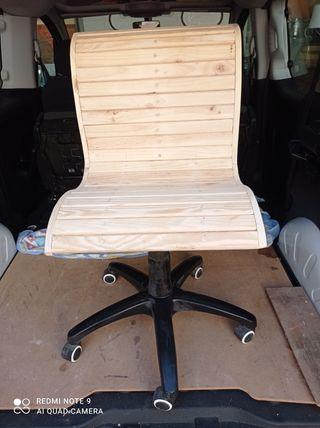 silla escritorio hecha a mano