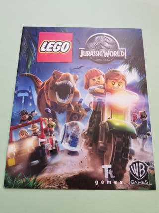Lego Jurassic World MANUAL PlayStation 4