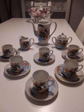 Juego de té Japones