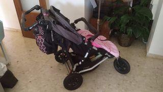 Carrito bebé gemelar Mountain Buggy
