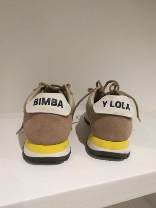 Zapatilla Bimba y Lola.