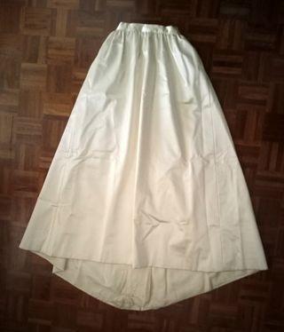 Falda de raso (novia vintage)