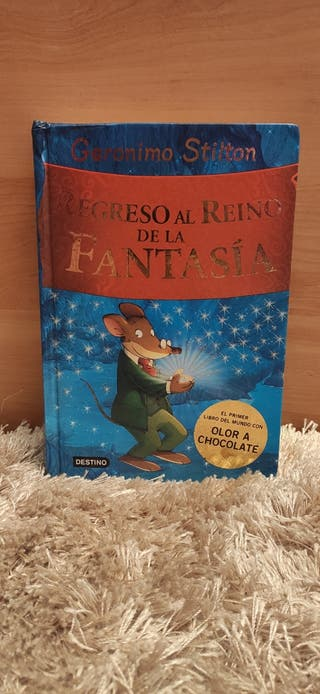 """Libro """"Regreso al Reino de la Fantasía"""""""