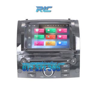 RADIO GPS ANDROID 10 PEUGEOT 407 (0410)