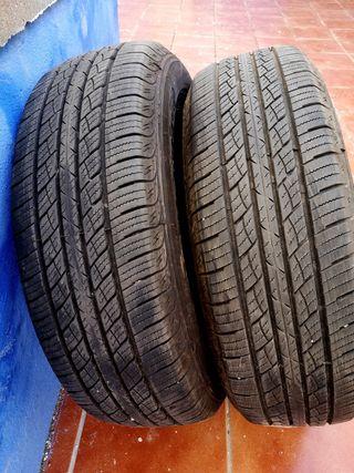 2 Neumáticos 215/70 R16 100T nuevos.