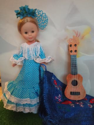 Guitarra para muñeca Nancy o similar