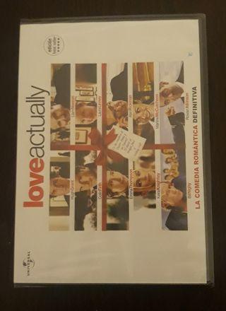 DVD película Love Actually nuevo.