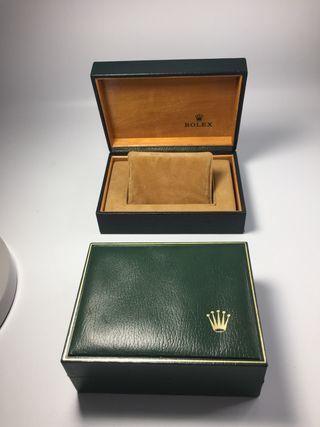 Caja reloj original rolex vintage