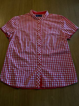 Camisa Fred Perry mujer. Talla 14.