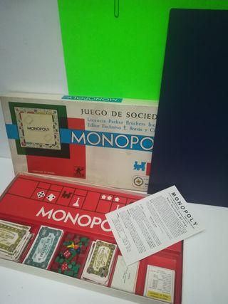 """MONOPOLY AÑOS 70"""" EXCL TE ESTADO!!"""