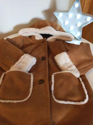 abrigo pelliza niña