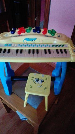 Piano Bob esponja