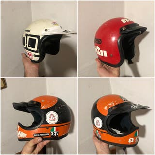 Lote cascos antiguos