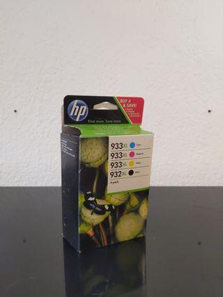 cartuchos impresora HP 932XL y 933XL