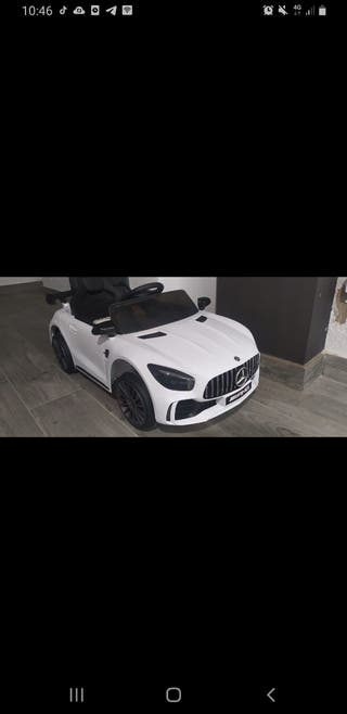 Coche electrico Mercedes AMG GT