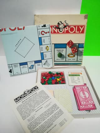 "MONOPOLY AÑOS 80"" PERFECT!!"