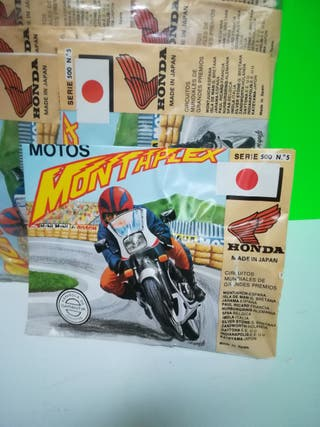 """SOBRE MOTOS MONTAPLEX AÑOS 70"""" SIN ABRIR!!"""