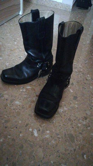 Botas de motero