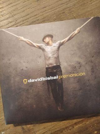 CD David Bisbal. Premonición.