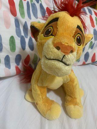 Peluche rey leon