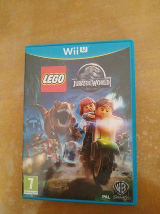 Juego Lego Jurassic world Wiiu