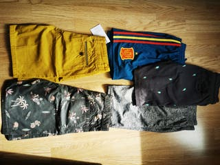 Lote pantalones Zara,Adidas,cocco..11 años