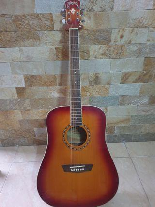 Guitarra acustica washburn WD7s