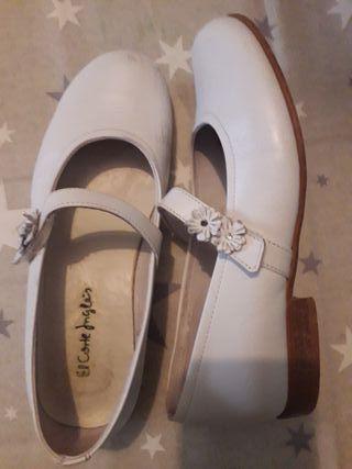 zapatos de comunión número 34