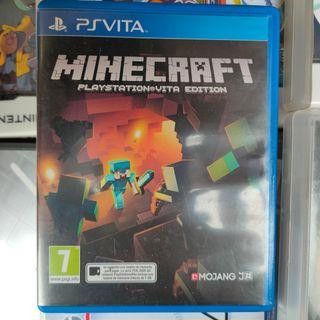 Minecraft Playstation Vita Edition - PS Vita