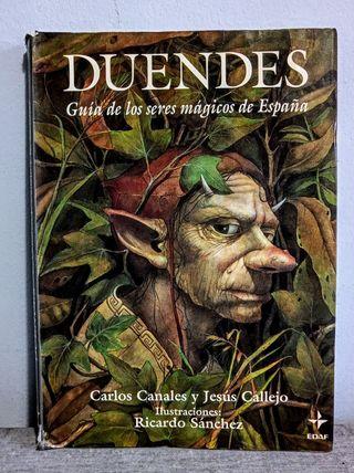 Duendes. Guía de los seres mágicos de España.