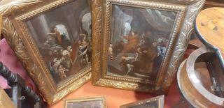 cuadros siglo XVII antigudedades