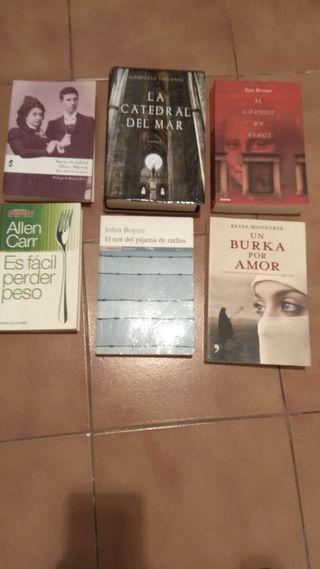 Libros de lectura, novelas, varios