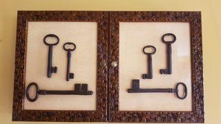 Armario rústico para llaves