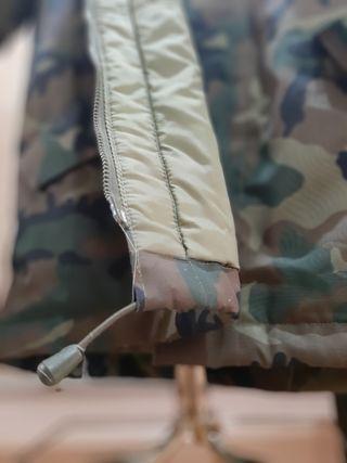 Parka militar + pantalón impermeable