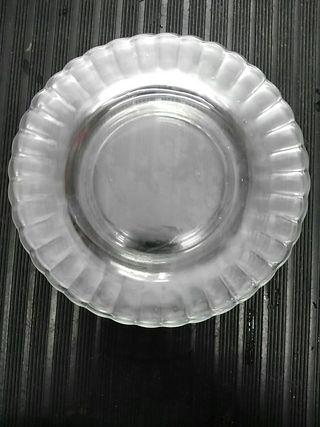Lote 4 platos llanos Duralex