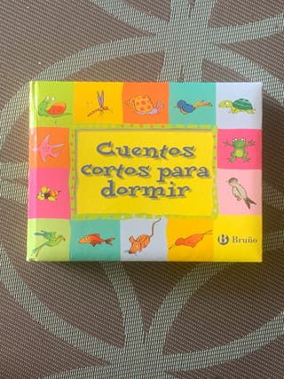 """Libro infantil """"Cuentos cortos para dormir"""""""