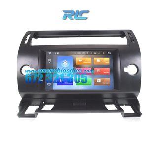 RADIO NAVEGADOR GPS DVD ANDROID 8,0 CITROEN C4 QUA