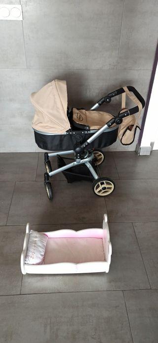 Carricoche - silleta y cuna para muñecas