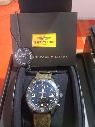 reloj BREITLING CHRONOSPACE MILITARY