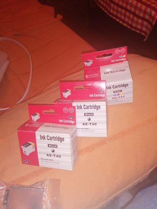 cartuchos de tinta ink cartrige
