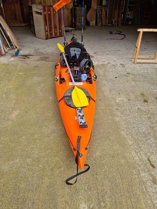 kayak pesca 4 metros